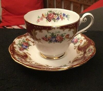Royal Standard Lady Fayre Tea Cup & Saucer Floral
