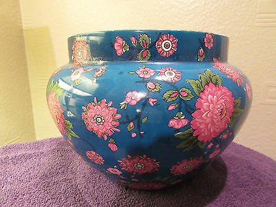 Shelley Bowl Late Foley Very Large Gorgeous Vibrant Colours 1910-1916 Rare Item
