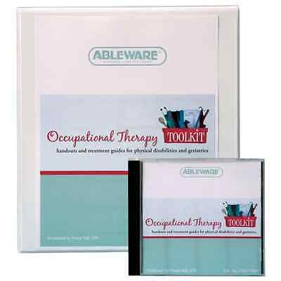 Ableware 718170000 English Occupational Therapy Toolkit, Print Version