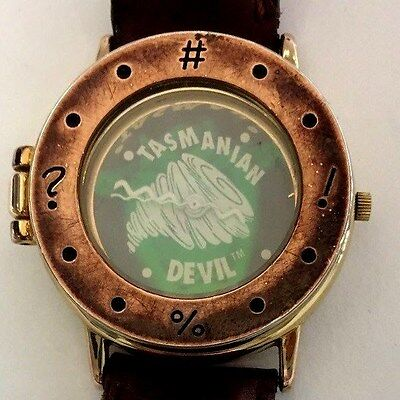 Warner Bro's Looney Tunes Taz Manian Devil Hologram Watch W/Spring LE 1 OF 20000