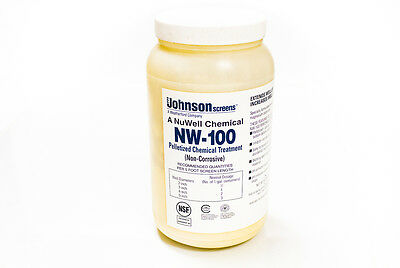 Nu-Well 100 Water Well Rehabilitation Pellets (4.5 lbs Jar)