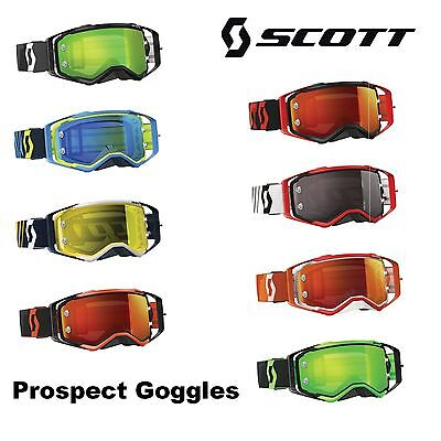 Scott Prospect Goggles ATV UTV Dirtbike Offroad Trail Riding Racing Dirt Bike