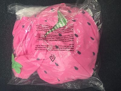 NEW Carter's Baby Girl 3 Piece Strawberry Fruit Halloween Costume Size 18M