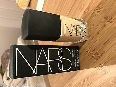 NARS Sheer Glow Foundation Make Up Light 4 Deuville Boxed 30 ml GENUINE