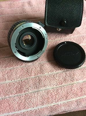 Pentax Pk Fit 2x Tele Converter With Case
