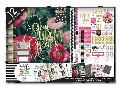 NEW MAMBI CLASSIC The Happy Planner- Faith Edition Kit Christian Undated Agenda