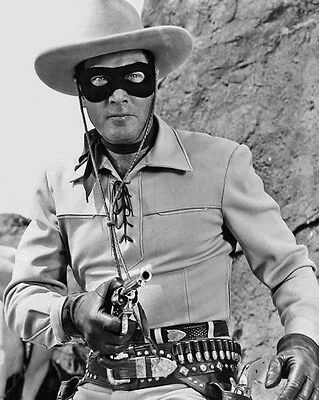 TV Show THE LONE RANGER as CLAYTON MOORE Glossy 8x10 Photo Actor Poster Print