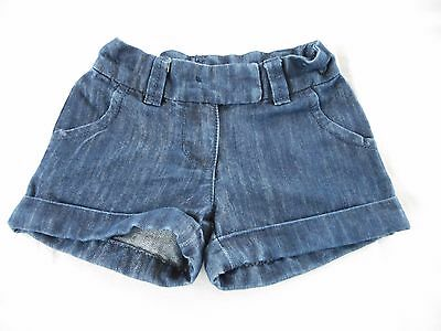 Next Denim Shorts With Turnups To Fit Age 3 Yrs Excellent Condition