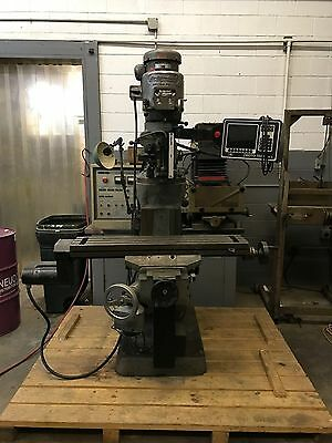 Bridgeport Series 1 CNC Vertical Milling Machine w/ Prototrak M2