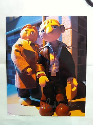 4 Life on Mars Animated pictures Simm and Glenister Signed COUVELA RARE Police
