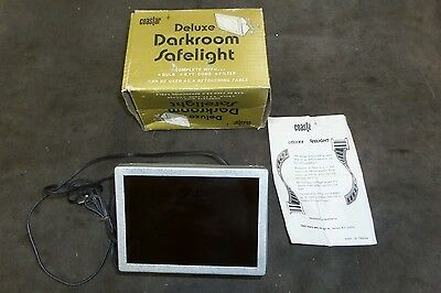Vintage  Deluxe Darkroom Safelight with box