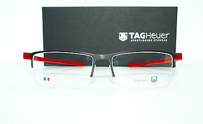 Brand New Large Tag Heuer Reflex Glasses TH3921 Tag Heuer Case + Free SV Lenses