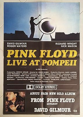 Soggettone Originale Pink Floyd Live At Pompeii Gilmour Waters Wright Mason Raro