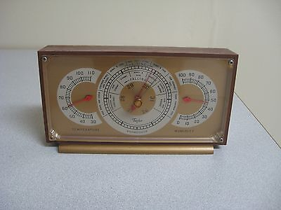 Taylor Stormoguide Desktop Thermometer Barometer Humidity Weather Station
