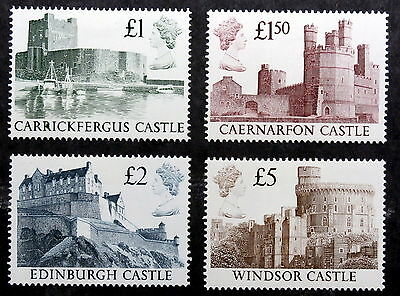 GB - 1988, Scott #1230-1233, Mint - Photographs of Castles by Prince Andrew