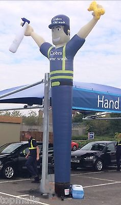 Inflatable Dancer for Car Washing with Blower