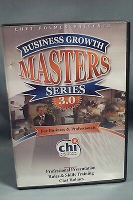 Chet Holmes Business Growth Masters Series 3.0 DVD #18 rules & skills training