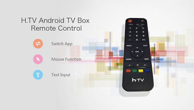 6-axis Premium Fly Mouse Remote Control Perfect Mate for tvpad4  moonbox  htv