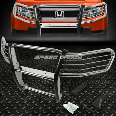 Chrome Steel Bumper Brush Grille Guard Frame For 03 11 Honda Element