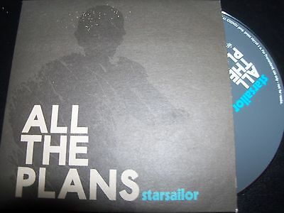 Starsailor All The Plans Card Sleeve CD Promo Album