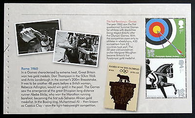 GB 2009/12 - 2012 Summer Olympics & Paralympics, Booklet panes of 2 each