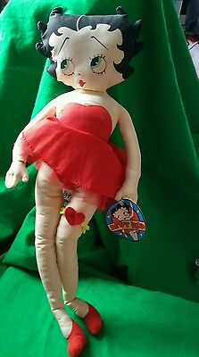 Betty Boop Stuffed Rag Doll 20 inch By King Features gift plush stuffed