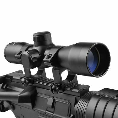 4X32 Compact Mil-Dot Rangfinder Rifle Reticle Sight Scope For Hunting Optics