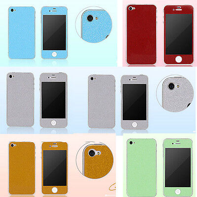 Front Back Side Full Body Decals Stickers Phone Case Cover Skin for iPhone 5 5S