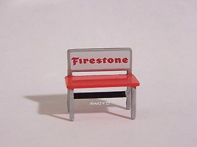 Mechanics Garage Workbench Firestone Diorama Prop 1/64 Scale