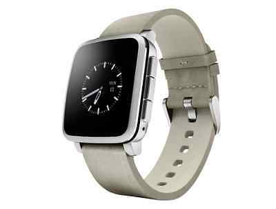 BRAND NEW! Pebble Time Steel Smartwatch for Most Android and Apple iOS New
