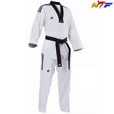 Adidas New 3S Grand Master II Uniform/Dobok/WTF Taekwondo uniform