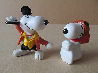 Vintage Peanuts Snoopy plastic Figures United Features hong kong