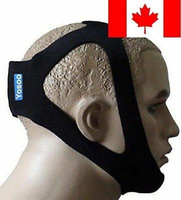 ZJchao Professional Anti Stop Snore Snoring Chin Strap Belt (Adjustable-One s...