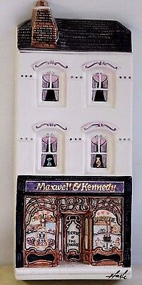 HAZLE CERAMICS ~ A Nation Of Shopkeepers ~ MAXWELL & KENNEDY ~ Signed Box 7/150