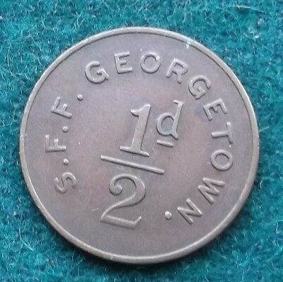 Military Tokeny S F F Georgetown Ref Number 236