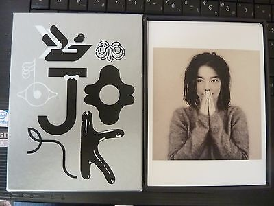Bjork: Box Of 16 LITHOGRAPHIC MOMA  Postcards NEW : Limited Edition