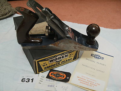 Woden W4 Boxed Smooth Vintage Wood Plane