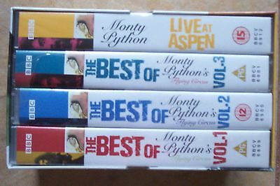 The Best Of Monty Python Flying Circus Boxset Videos--Vhs