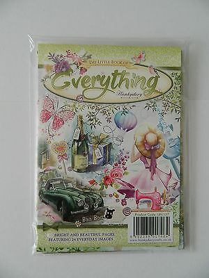 """Hunkydory The Little Book Of Everything"""" 24 A5 Toppers,  Birthdays, Etc"""