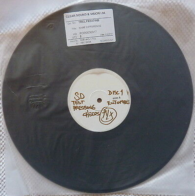 Entombed - Same Difference 2014 Test Pressing. Only five made.
