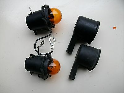 VESPA T5 PX FRONT INDICATOR BULB HOLDERS AND COVERS  (ref 25)