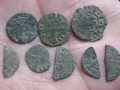 Medieval lot  Münzen - coin Portugal to identify