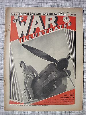 The War Illustrated # 61 (Spitfire, Blitz, Luftwaffe, London Firemen, Eagle Sqn)