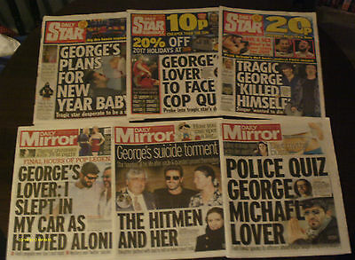 George Michael X 6 Newspaper R.i.p - 30Th December To 6Th January 2016 - 17