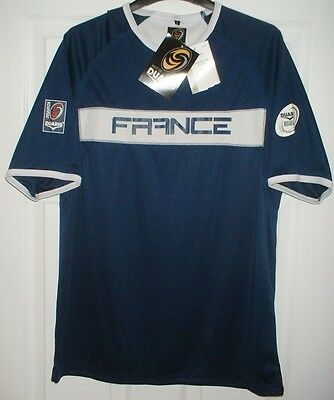 *NEW* France Rugby Union T-Shirt/Jersey/Top - Adult - Large (6 Nations Ideal)