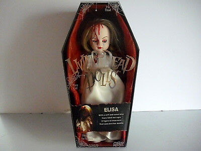 LIVING DEAD DOLLS SERIES 9 ELISA DAY Mezco LDD open but in excellent condition