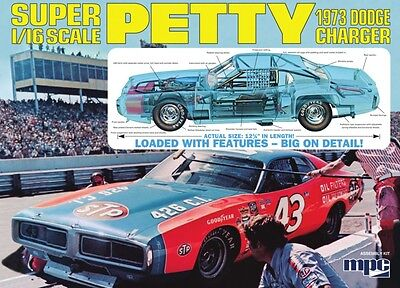 MPC 1/16 1973 DODGE CHARGER  Model Kit