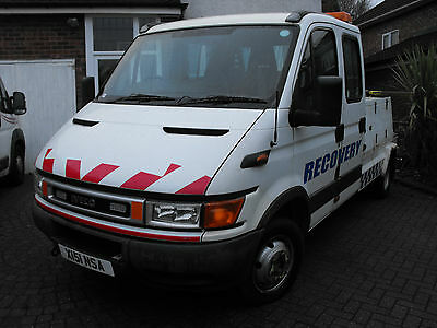 2000 Iveco 50C13 Spec Lift Recovery Truck Px Considered