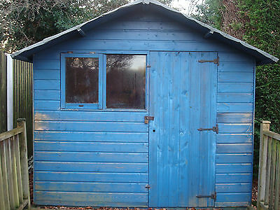 Garden Wooden Shed 8 x 6