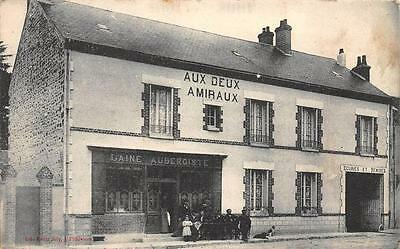 CPA 45 PITHIVIERS MAGASIN COMMERCE AUX DEUX AMIRAUX (rare cpa